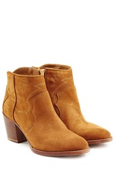 Zadig And Voltaire Suede Ankle Boots Brown