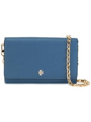 Tory Burch 'Robinson' Shoulder Bag Blue