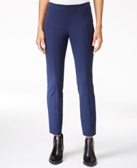 Maison Jules Bi Stretch Pull On Pants Only At Macy's Blu Notte