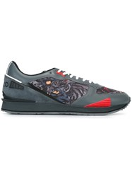Kenzo 'Flying Tiger' Sneakers Grey