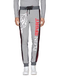 Plein Sport Trousers Casual Trousers Grey