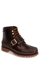 Men's Eastland 'Silverado 1955' Leather Moc Toe Boot Burgundy