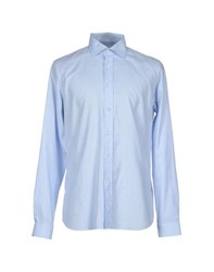 Prada Shirts Shirts Men Sky Blue