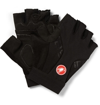 Castelli Presa Suede And Mesh Cycling Gloves Black