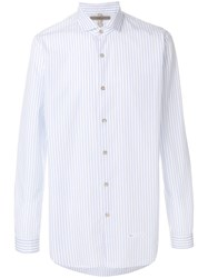 Dnl Striped Shirt White