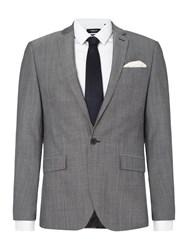 Kenneth Cole Men's Mercer Slim Fit Tonic Suit Jacket Chambray