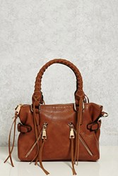 Forever 21 Urban Expressions Satchel Tan