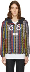 Fendi Multicolr Faces Zig Zag Jacket