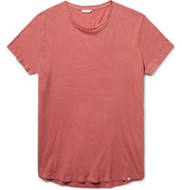 Orlebar Brown Ob T Lim Fit Cotton Jerey T Hirt Coral