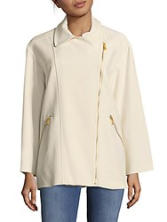 Marc By Marc Jacobs Eva Stretchable Jacket Antique White