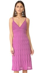 M Missoni Zigzag Dress Lavender