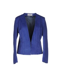 M.Grifoni Denim Suits And Jackets Blazers Women Blue