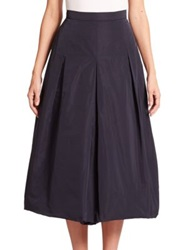 Max Mara Hixie Bubble Hem Skirt Ultra Marine