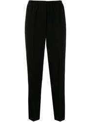 Theory Relaxed Fit Trousers Black