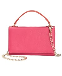 Giani Bernini Softy Leather Smartphone Wallet Crossbody Only At Macy's Punch Cobalt Multi