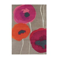 Sanderson Poppies Red Orange Rug 170X240cm