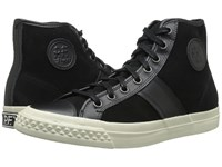 Pf Flyers Rambler Black Suede Leather Men's Lace Up Casual Shoes