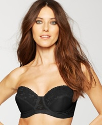 Carnival Full Coverage Lace Strapless Bra 123 Black