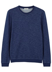 Oliver Spencer Indigo Cotton Sweatshirt