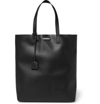 Saint Laurent Leather Tote Bag Black