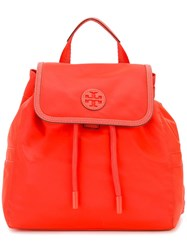 Tory Burch Mini 'Scout' Backpack Red