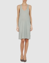 Superfine Short Dresses Light Green