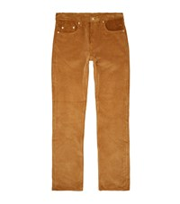 Sandro Corduroy Trousers Yellow