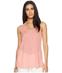 Lilly Pulitzer Luxletic Corinna Tank Pink Conch Sleeveless
