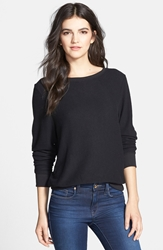 Wildfox Couture 'Baggy Beach Jumper' Pullover Jet Black