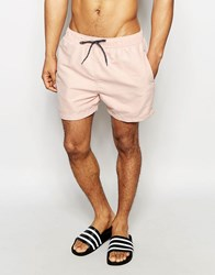 Selected Homme Classic Swim Shorts Pink