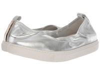 Kenneth Cole New York Kam Ballet Silver Stretch Shoes