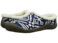 Keen Howser Ii Slide Dress Blue White Women's Slippers