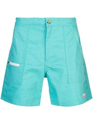 Battenwear Belted Local Shorts Blue