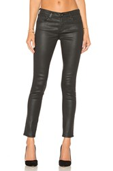 Ag Adriano Goldschmied Legging Ankle Leatherette Super Black