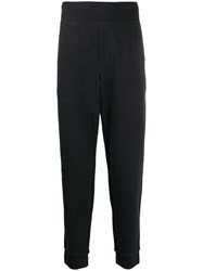 James Perse Classic Slim Fit Track Trousers Blue