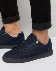 G Star Thec Denim Trainers Navy