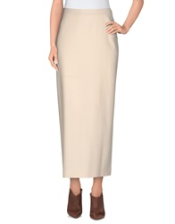 Veronique Branquinho 3 4 Length Skirts Ivory