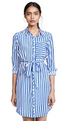 Ayr The Society Dress Albers Stripe