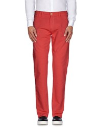 J.W. Raily Trousers Casual Trousers Men Coral