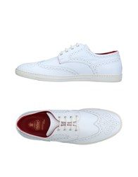Tricker's Lace Up Shoes White