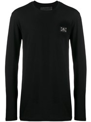 Philipp Plein Long Sleeve Top Black