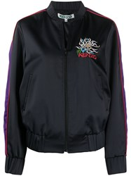 Kenzo Embroidered Detail Teddy Jacket 60