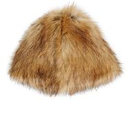 Hat Attack Faux Fur Hat Nude