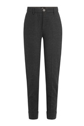 7 For All Mankind Seven 8 Pants With Virgin Wool Grey