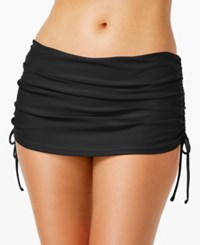 Island Escape Ruched Swim Skirt Women's Swimsuit