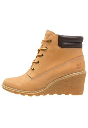 Timberland Amston 6Inch Wedge Boots Wheat Camel