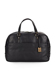 Frye Richard Vintage Leather Duffel Bag Black