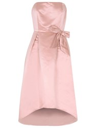 True Decadence Bandeau Prom Dress Dusty Pink