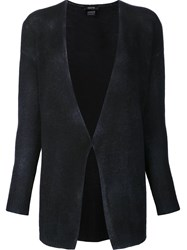 Avant Toi Open Closure Cardigan Black