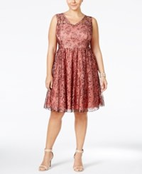 American Rag Plus Size Sleeveless Lace A Line Dress Only At Macy's Blush